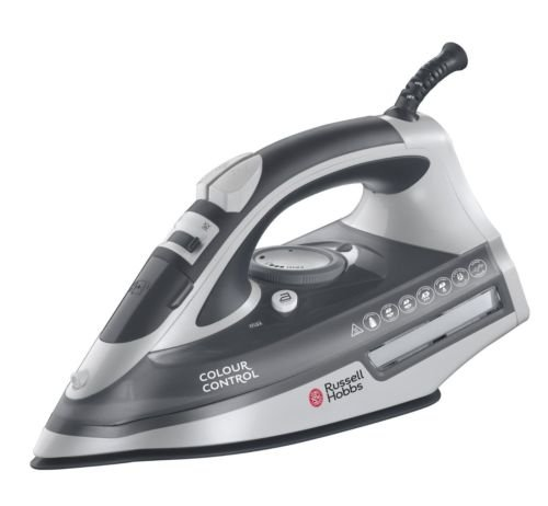 BRAND NEW HIGH QUALITY Russell Hobbs 20280 Colour Control 2400W Non-Stick Self-Clean Steam Iron