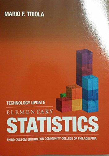 Elementary Statistics 12th edition by Mario Triola PDF eTextBook