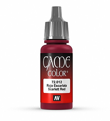 Vallejo Game Color Scar Red Paint, 17ml