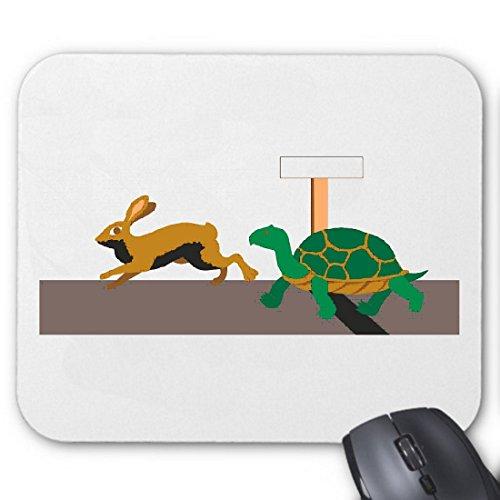 mousepad-mauspad-schildkrote-und-hare-cartoon-zeichentrick-spass-film-serie-dvd-fur-ihren-laptop-not