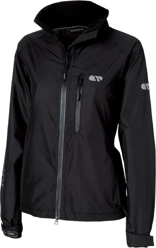 Madison Prima Womens Waterproof Jacket, Black 14