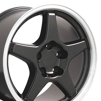 Wheel1x - ZR1 Style Replica Wheel V Lip  Machined