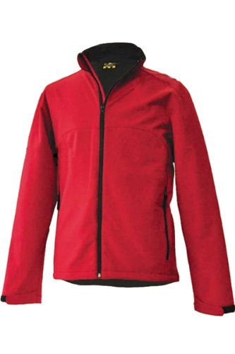 Reliant Mens Breathable Waterproof & Windproof Softshell Jacket Red X-Small