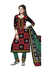 Aarvi Fahion Ethnicwear Women's Dress Marerial(Rangresham1823_Multicoloured_Free Size)