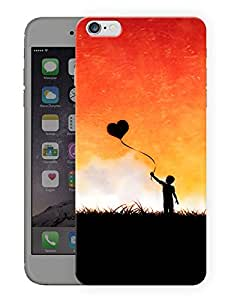 """Humor Gang Boy With Heart Balloon Printed Designer Mobile Back Cover For """"Apple Iphone 6 PLUS - 6S PLUS"""" (3D, Matte, Premium Quality Snap On Case)"""