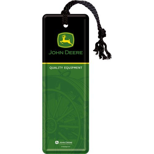 nostalgic-art-john-deere-logo-black-and-green-marcapaginas-5-x-15-cm