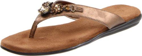 Aerosoles Women's Chlementine Sandal,Bronze Combo,7.5 M US