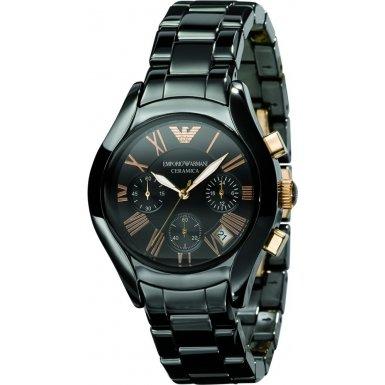 Emporio Armani AR1411 Mens Ceramica Chronograph Watch