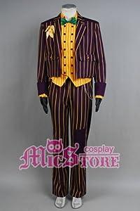Batman Arkham Asylum Joker Cosplay Kostüm, Mantel, Anzug männlich Größe XL