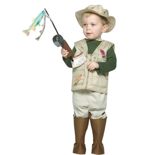 Future Fisherman Toddler Costume - 3-4T - Kid's Costumes
