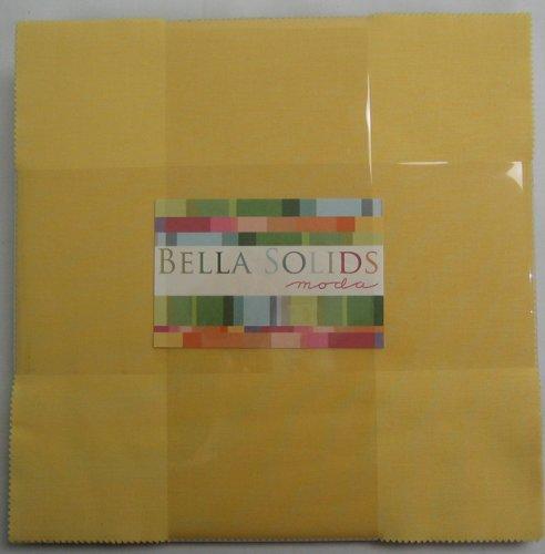 Moda BELLA SOLIDS 1930s COLORS Layer Cake 10