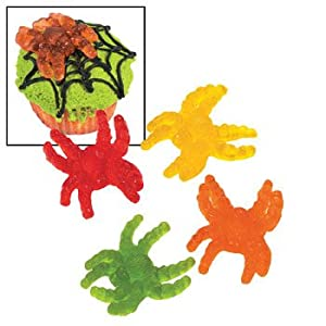Gummy Tarantulas - Candy & Soft & Chewy Candy