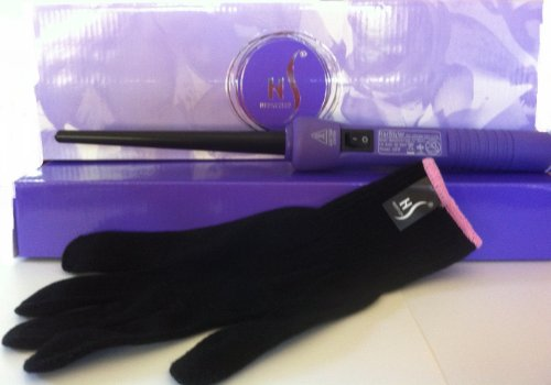 Herstyler Purple Baby Curls Curling Iron 2012 Model