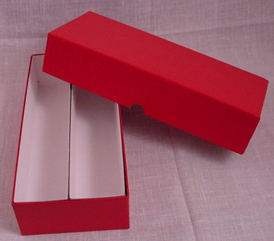 "Coin Box - 10"" Double Row Box for 2"" Coin Holders"