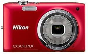 """Nikon Coolpix S2699 Appareil photo numérique compact 16 Mpix Ecran 2,7"""" Zoom optique 6x Rouge"""