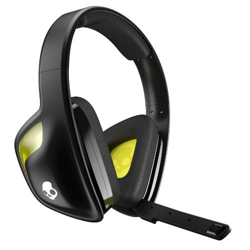 Portable, Skullcandy Slyr Gaming Headset, Black/Yellow (Smslfy-207) Color: Black/ Yellow Consumer Electronic Gadget Shop