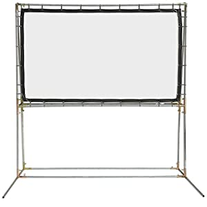 Carl's FlexiWhite , DIY Standing Projection Screen, White, Gain 1.1 (16:9 | 5x9-Ft | 120-in) Supports HD/High-Definition & Active 3D Projection, In/Outdoor, Portable Movie Screen