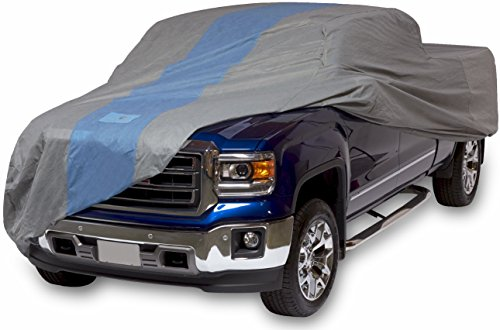 Duck Covers A1T232 Defender Pickup Truck Cover for Extended Cab Short Bed Trucks up to 19' 4