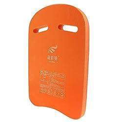 Generic Unisex Swimming Kickboard Kids Children Adults Safety Pool Beach Training Aid Float Buoy Hand Board - orange