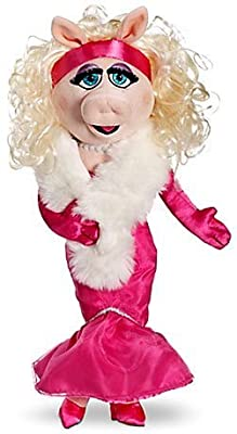18 Inch Miss Piggy in Pink Gown Plush Doll - The Muppets Plush Toys