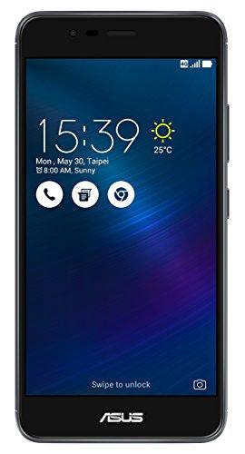 Asus ZenFone 3 Max Smartphone, Memoria Interna da 32 GB, Dual-SIM, Grigio [Italia]