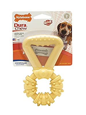 Nylabone Dura Chew Medium Textured Tug Dog Chew Toy