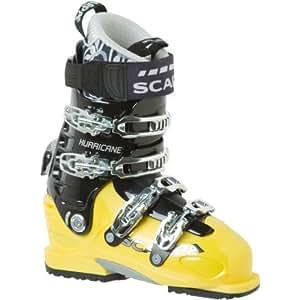 Scarpa Hurricane Pro Ski Boot - Men's Yellow/Black, 25.0