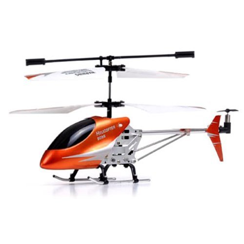 Gyro LED Metal Mini RC Helicopter 3-Channel Infrared Remote Control Electric Indoor Heli 9098