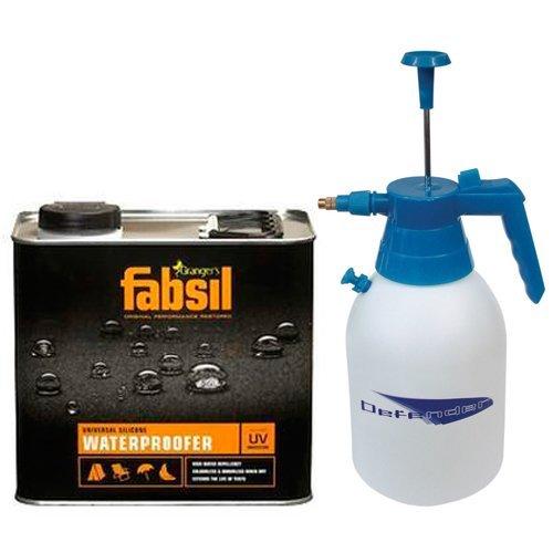 grangers-fabsil-25-litre-waterproofer-25l-2-litre-pressure-sprayer-2l-by-fabsil-defender