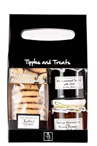 Butler's Grove Tipples and Treats Gift Basket
