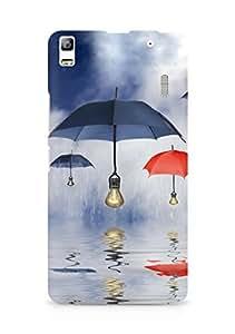 Amez designer printed 3d premium high quality back case cover for Lenovo K3 Note (Art Reflection)