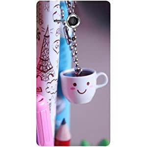 Casotec Photography Design Hard Back Case Cover for Sony Xperia SP