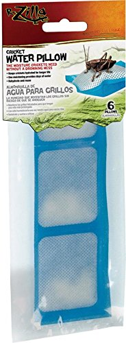 Zilla Reptile Food Cricket Water Pillows, 6-Pack (Hot Box For Bed Bugs compare prices)