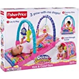 Fisher-Price Ocean Wonders Kick n Crawl Gym - Pink