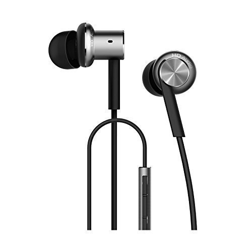 Xiaomi Mi Hybrid Earphone In-Ear Headphones Multi-unit Circle Iron Mixed Piston Earphones Silver Color