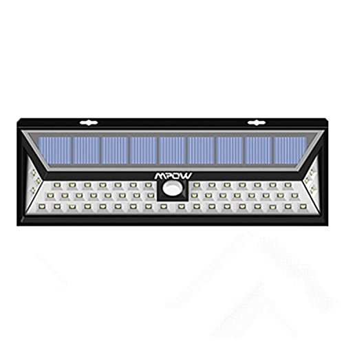 Comparamus 54 led mpow lampe solaire ext rieure - Spot exterieur sans fil ...