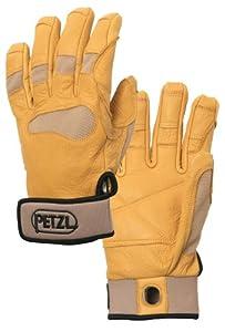 Petzl Cordex+ Lightweight Belay/Rappel Gloves - Tan X-Small