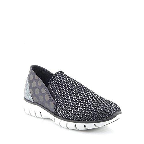 Felmini - Scarpe Donna - Innamorarsi com Runner 9488 - Sneakers - Pelle + Tela Genuina - Multicolore - 40 EU Size