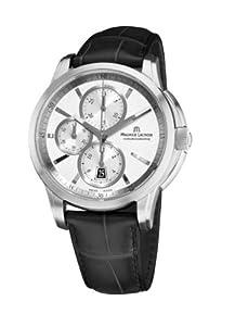 Maurice Lacroix Men's PT6188-SS001130 Pontos Pontos Silver Chronograph Dial Watch