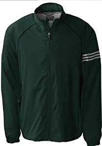 Adidas Golf A69 ClimaProof Mens 3-Stripes Full-Zip Jacket by adidas