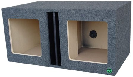 Audio Enhancers Kpl10Dc Subwoofer Enclosure Box, Carpeted Finish