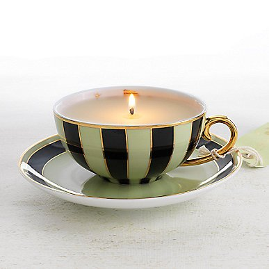 Limited Edition Tea Cup Candle by MOR - Jasmine Tea