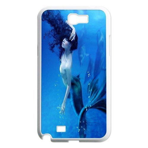 Samsung Galaxy Note 2 N7100 Mermaid Phone Back Case Art Print Design Hard Shell Protection Aq049343
