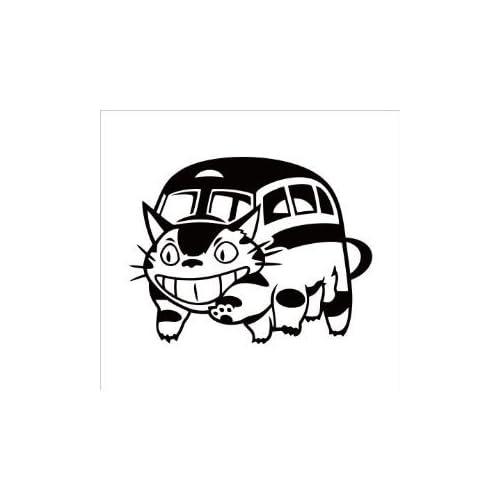 Amazon.com: (2x) My Neighbor Totoro Cat Bus Studio Ghibli (SIZE: 5