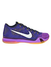 "Nike Kobe X Elite Low ""Opening Night"" Men's Shoes Court Purple/White-Vivid Purple-Cv Purple 747212-515"
