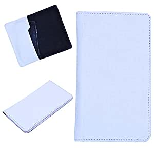 DCR Pu Leather case cover for Huawei Ascend G700 (white)