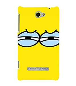 PrintVisa Eyes Design 3D Hard Polycarbonate Designer Back Case Cover for HTC Windows Phone 8