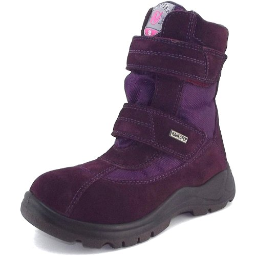 Naturino, Stivali da neve Unisex, (bordoux red), 7.5 UK