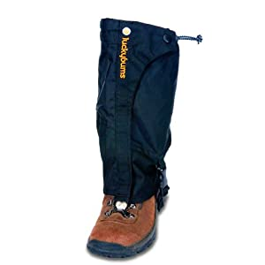 Lucky Bums Youth Boot Gaiters (Black, Small)