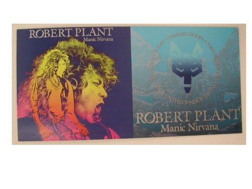 Robert Plant Poster Led Zeppelin Manic